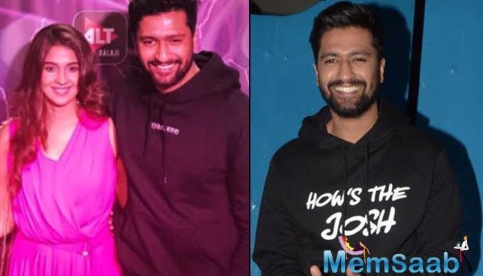 In a recent interview with Filmfare, Vicky Kaushal confirmed that he is in a relationship with Harleen Sethi, and felt right ever since they started seeing each other.
