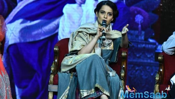 The Manikarnika actress Kangana expressed her grief towards the attack.