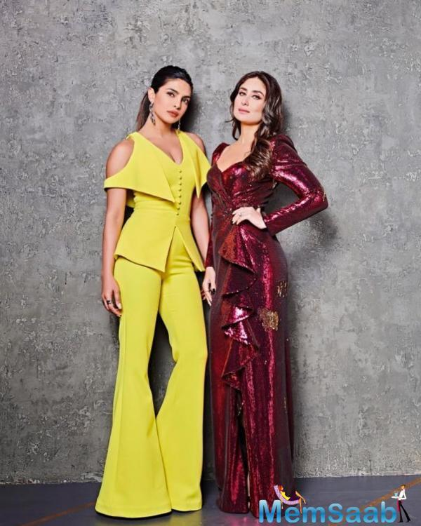 The next episode will have superstars Kareena Kapoor Khan and Priyanka Chopra making an appearance together on the show. This is the first time Bebo and PeeCee will be sharing the couch.