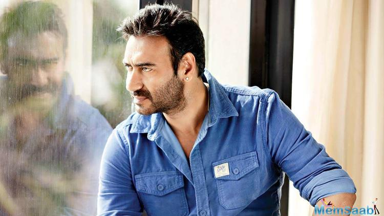 """There is no pressure because I think the film has shaped up well. I had a two-hour laugh riot when I read the script. I found it too funny and that's how the film has shaped up,"" says Ajay,"