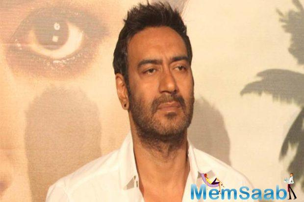 "The 49-year-old actor was among the celebrities from Bollywood who had condemned the Pulwama terror attack. ""Horrible and disgusting. Anger can't be put into words. #KashmirTerrorAttack"" Devgn had tweeted."