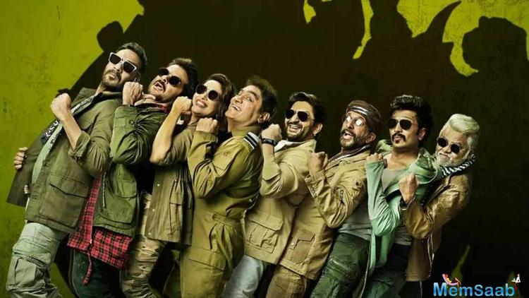 """""""In light of the current situation the team of Total Dhamaal has decided to not release the film in Pakistan,"""" Devgn tweeted."""