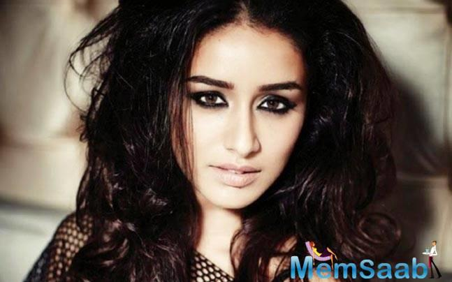 Shraddha who is currently shooting in London though has an off day from the shoot makes it a point to never miss out on her dance rehearsals.