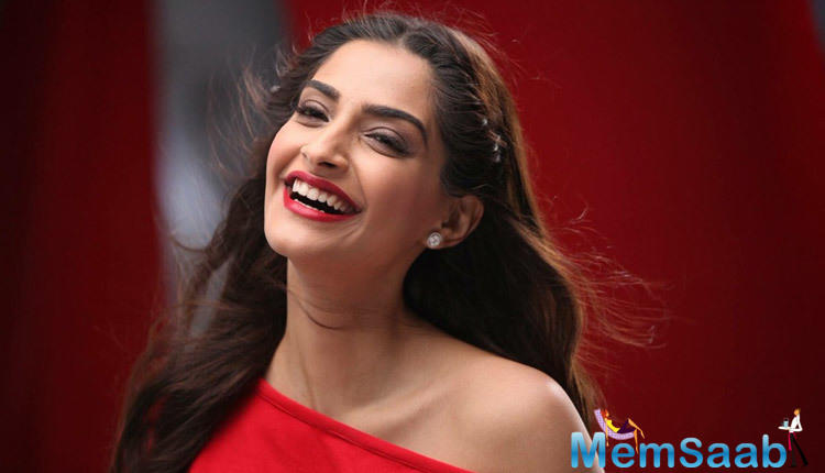 Sonam is currently riding high on the success of her film Ek Ladki Ko Dekh Toh Aisa Laga.