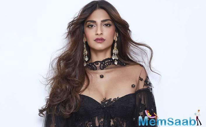 "Sonam Kapoor says, ""I repeat my clothes a lot and lot of clothes that I wear for promotions and all are borrowed. Certain things I have bought, sometimes I don't but I do repeat my clothes a lot."""