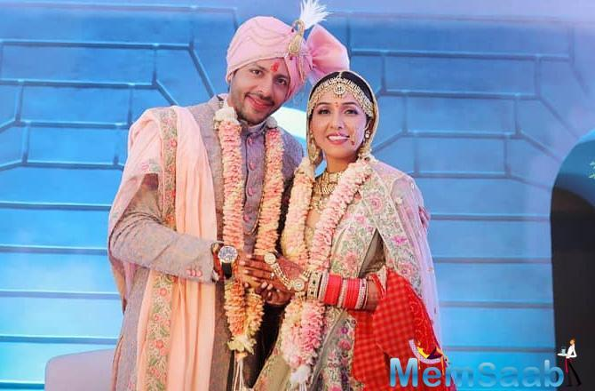Doesn't the couple look beautiful together? Nihar, most recently seen in Manikarnika: The Queen of Jhansi, revealed how they fell in love.