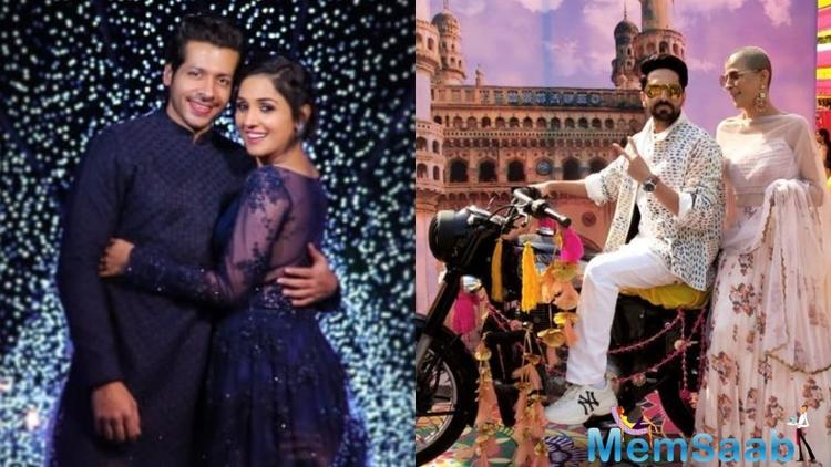 Popular singer Neeti Mohan of girl band Aasma fame tied the knot with boyfriend actor Nihar Pandya on February 15, 2019. The ceremony took place at the magnificent Falaknuma Palace in Hyderabad.