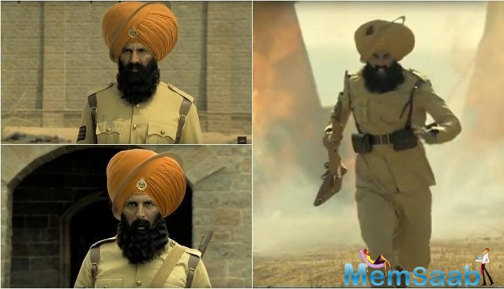The much awaited Kesari's first trailer is finally out and audiences would be enthralled by the same.