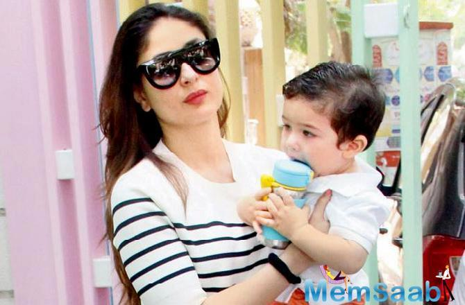 The actor said while she and husband Saif Ali Khan don't believe in stopping the paparazzi from clicking pictures of their son, the media should be a little more responsible.