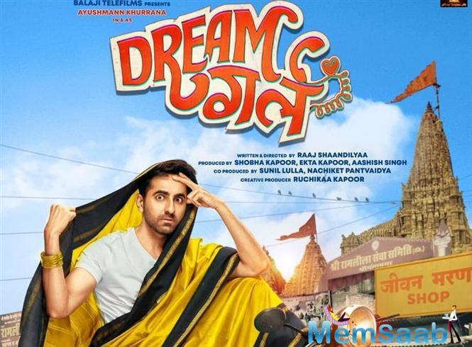 In December, the first poster of 'Dream Girl' was unveiled by Ayushmann on his Instagram account.