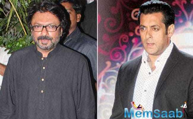 Sources say that the script that Bhansali has in mind for Salman was evolving for a long time. He would have made this particular subject only with Salman or not at all.