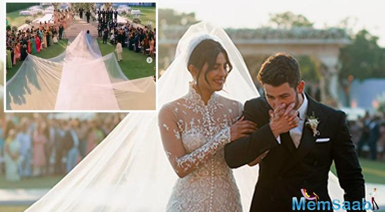 Priyanka Chopra and Nick Jonas tied the knot in December and even two months later, netizens and fans cannot get enough of the actress-singer couple.