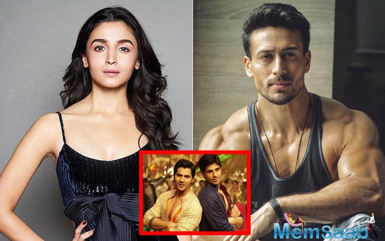 Reports are that Alia will shoot with Tiger Shroff for a song in Student Of The Year 2, which features just her from the ex-students' batch