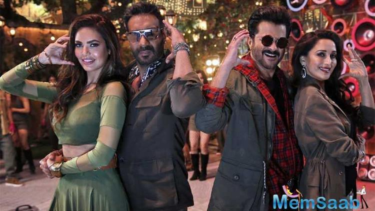 The adventure comedy, Total Dhamaal, which has garnered phenomenal word of mouth had a great week one, earning a sum total of 94.55 Cr.