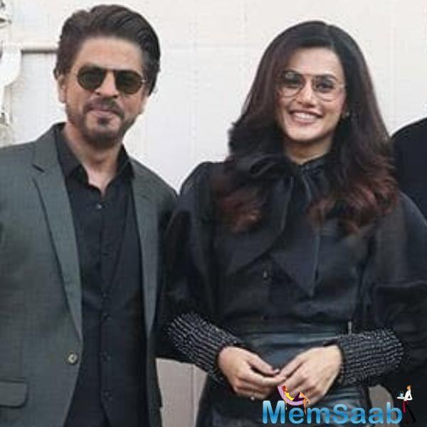 Although, when we recently met Tapsee Pannu during the promotions of Badla, we asked her about Shah Rukh Khan's cameo in the film.