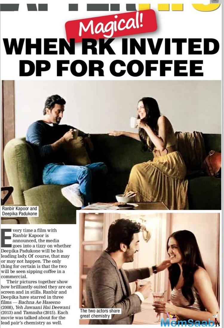 Deepika and Ranbir were in a relationship for several years and due to some indifference, they parted ways.