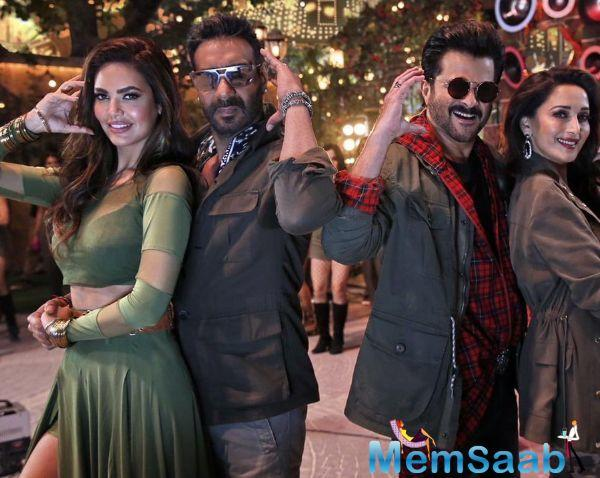 Total Dhamaal is the third installment of the successful franchise Dhamaal, which originally starred Arshad Warsi, Jaaved Jaaferi and Riteish Deshmukh alongside Sanjay Dutt.