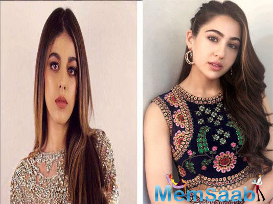 While Alaia's debut has been much-anticipated news for the audience, her stepping into the shoes of Sara Ali Khan in reel life, to play Saif Ali Khan's daughter, further added to the excitement.