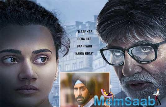 If the trailer of this Sujoy Ghosh thriller is anything to go by, then the unconventional Bachchan-Tapsee combo has another winner on hand.