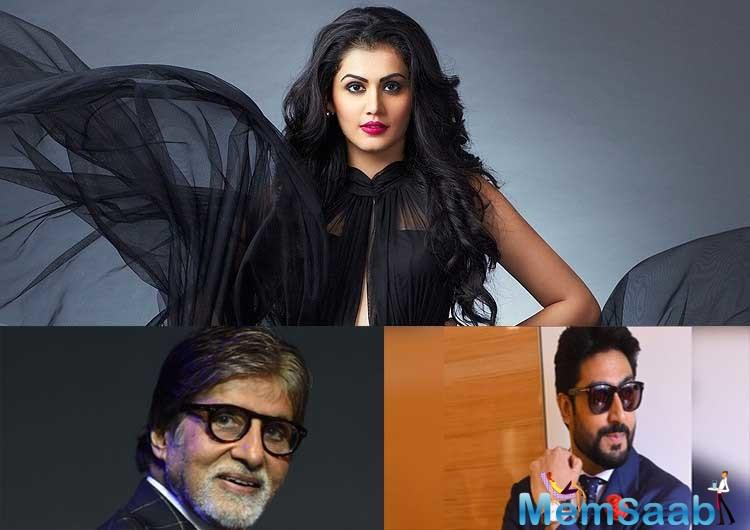 Interestingly, Taapsee has worked with both father and son Bachchan.