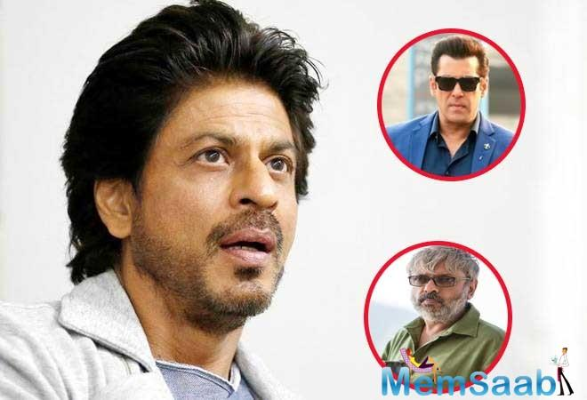 Fans go berserk seeing the two big Khans of Bollywood- Salman and Shah Rukh together onscreen. We have seen the duo on reality shows and also making cameos of late in each other's movies.