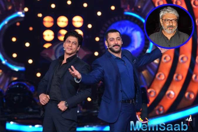 Now, the latest buzz has caught our fancy. According to a DNA report, Shah Rukh Khan may feature in an upcoming untitled Sanjay Leela Bhansali project that stars Salman Khan in it.