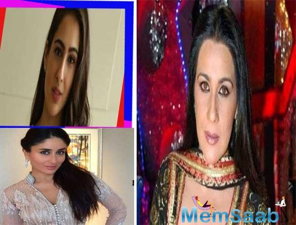 Sara Ali Khan has time and again professed her admiration for Kareena Kapoor Khan in several interviews and chat shows, who is now the wife of Saif Ali Khan.