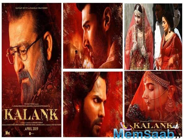 And it's time! After introducing us to Varun Dhawan, Aditya Roy Kapur and Sanjay Dutt's characters, it's time for #WomenofKalank.