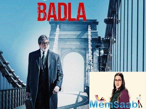 After Pink, Taapsee Pannu and Amitabh Bachchan will be reuniting to play a client and lawyer duo in Badla.