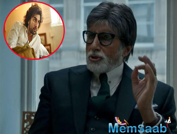 For Big B, working with Ranbir in Ayan Mukerji's Brahmastra is a learning experience.