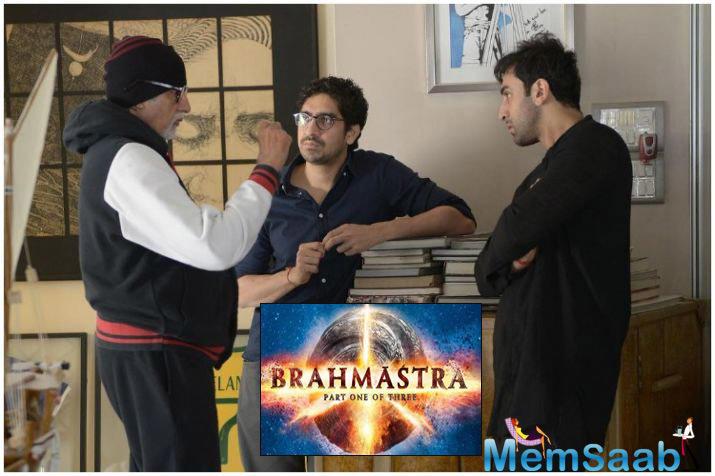Produced by Karan Johar, the film also stars Amitabh Bachchan, Dimple Kapadia and Mouni Roy in pivotal roles. It has been shot in Bulgaria, Edinburgh, London and Mumbai.