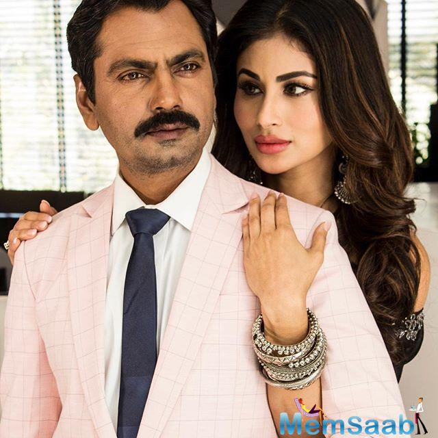 In a fresh casting, producers of Woodpecker Movies have brought together a fresh pairing of  Nawazuddin Siddiqui and Mouni Roy in their next venture Bole Chudiyan, directed by Shamas Siddiqui.