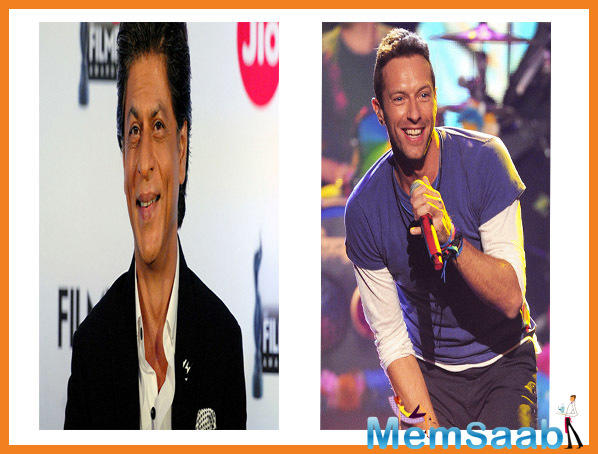 Coldplay frontman Chris Martin is a fan of Shah Rukh Khan. He admires Bollywood's 'Baadshah' and hopes his charm stays on for forever.