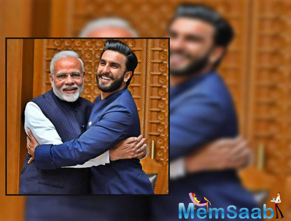 Ranveer Singh says Prime Minister Narendra Modi had urged the young members of the film fraternity that they should try to choose content which propagates the message of