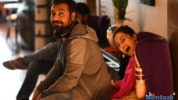 """Confirming the same, Anurag said, """"Taapsee keeps me on my toes and she is on a mission to push me to take on challenges. She threw this one at me and I am taking it on. Have never done anything like this before so am looking forward to it,"""""""