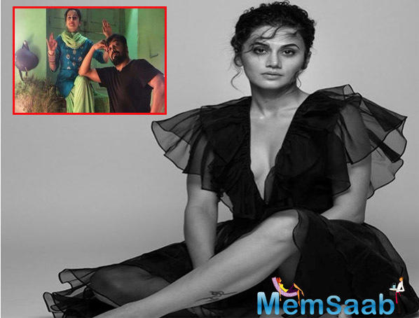 The project not only reunites Kashyap and Taapsee, who worked together in Manmarziyaan,