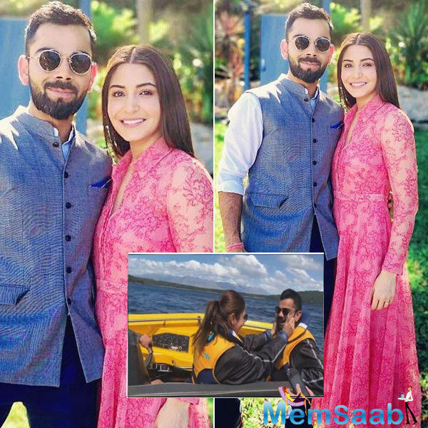 Virat Kohli and Anushka Sharma, popularly known as Virushka are cuteness overloaded and every time they post something or even make a public appearance together for that matter, they have the fans gushing over the two.