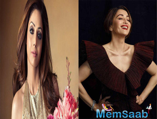 At the film's teaser launch here on Tuesday, Madhuri was asked about how she felt on the sets of