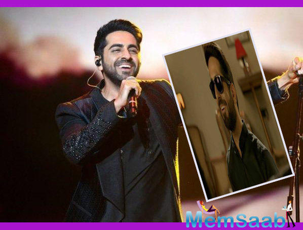 The story has a twist when she is caught disposing of her husband's body in front of a presumably blind pianist. Ayushmann Khurrana is seen as portraying the role of the blind pianist.