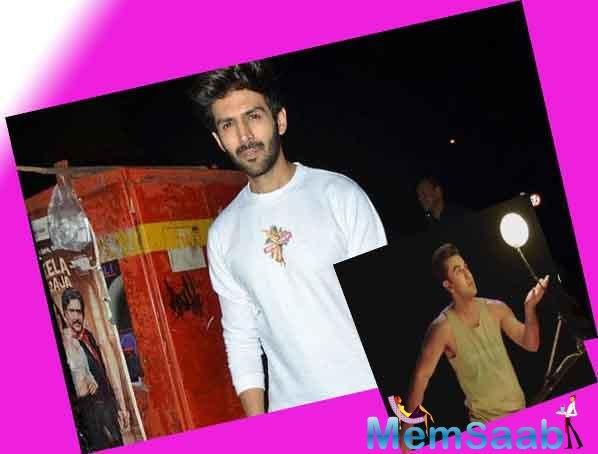 Kartik Aaryan and Sara Ali Khan have already begun shooting for their upcoming film, Love Aaj Kal 2 in New Delhi.