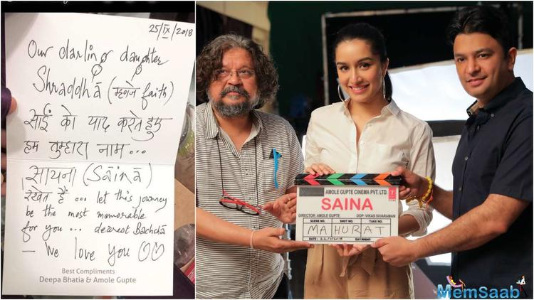 Saina Nehwal biopic, the sports drama is helmed by Amol Gupte.