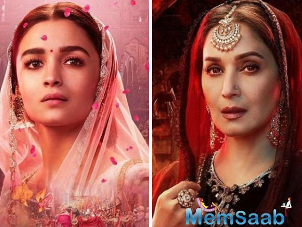 From the teaser, the song looks celebratory and colourful. We can't wait to watch Madhuri and Alia to simply add to its visual delight.