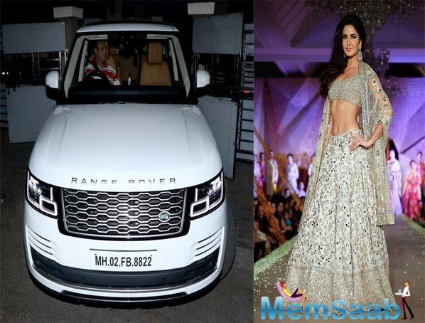 Besides Katrina Kaif, some other B-town celebs have also chosen this car as their preferred mode of transport. Alia Bhatt, Bobby Deol, SRK, Jacqueline, Kareena and Anushka Sharma also own variations of this car.