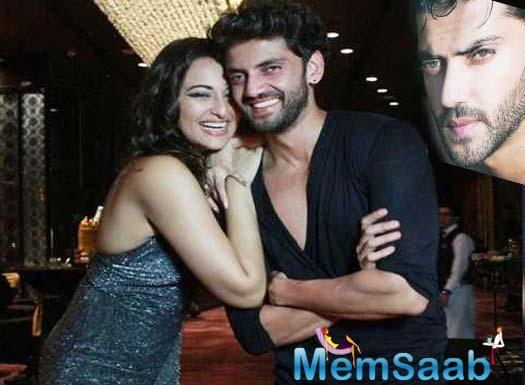Kalank actress Sonakshi Sinha has found a new friend in Notebook actor Zahir Iqbal and the two are hanging out with each other often.