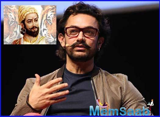 When asked which historical character would he love to play, Aamir reveals that he would play the role of Shivaji very well.