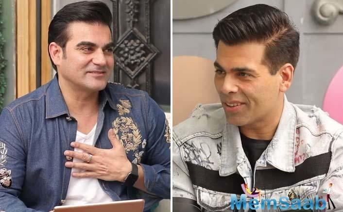 The host of the show, Arbaaz Khan read out comments about Karan on social media about his sexuality, sartorial choices and even asked about the controversial episode of Johar's chat show.