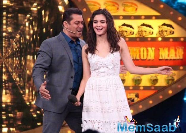 Alia Bhatt is all set to star opposite Salman Khan. The actress has also shared the excitement on social media.