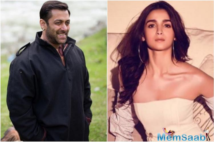 Talking about the same, in an interview with Pinkvilla, Alia cleared the air about facing the criticism to star opposite Salman Khan.