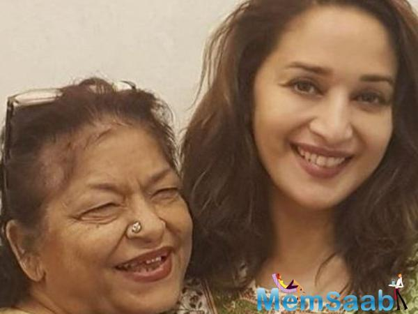 Their association goes back a long way. So when Madhuri heard Saroj's complaint, she came to her support.