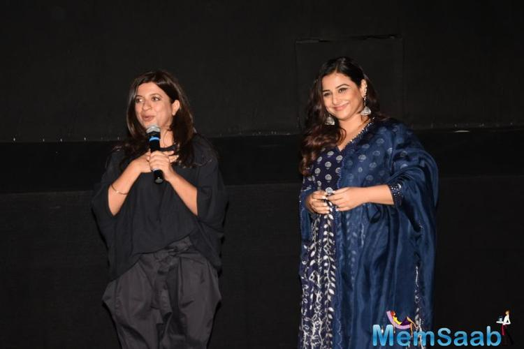 Apart from Zoya Akhtar and Vidya Balan, Rajeev Masand, Anupama Chopra, Raja Sen, Shubha Shetty, Bhawana Somaaya and Rahul Desai were present to announce the nominations.